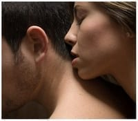Beso en el cuello