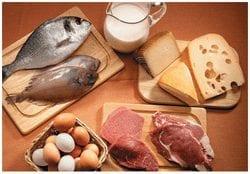 Comidas ricas en proteinas