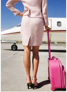 Tips para verte genial luego de un largo viaje en auto o avion