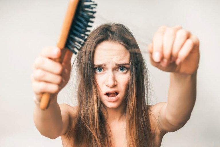Cuando el cabello se cae