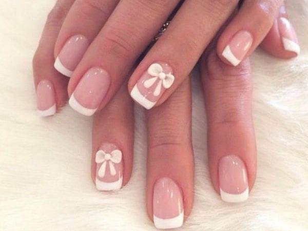 Decoración de uñas de porcelana