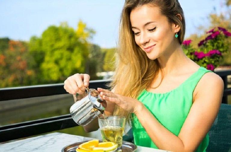 El te verde para eliminar la grasa en la cintura