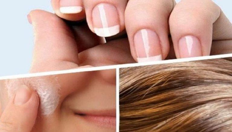 Vitaminas esenciales para tener piel, cabello y uñas sanas