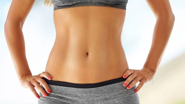 Conseguir un abdomen plano